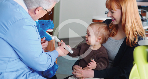 Taking care of your baby's teeth video