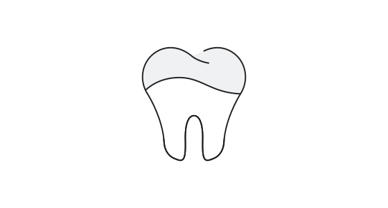 Dental sealant icon